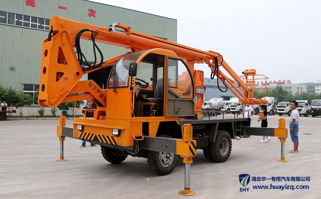 EHYJCK系列多功能液压曲臂伸缩式高空作业平台车