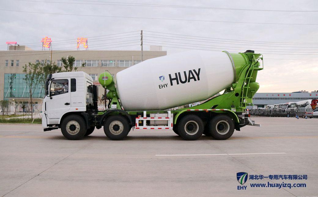 重汽豪曼H5轻量化12方搅拌车