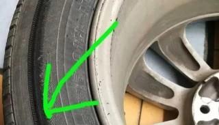 行驶时轮胎有响声,修理厂检查完,车主和汽修师傅都惊出一身冷汗